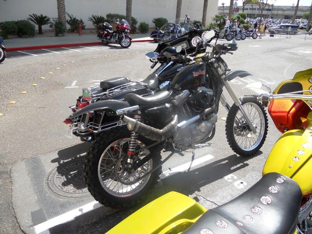 Baja Iron Harley Sportster Conversion 1986 Davidson