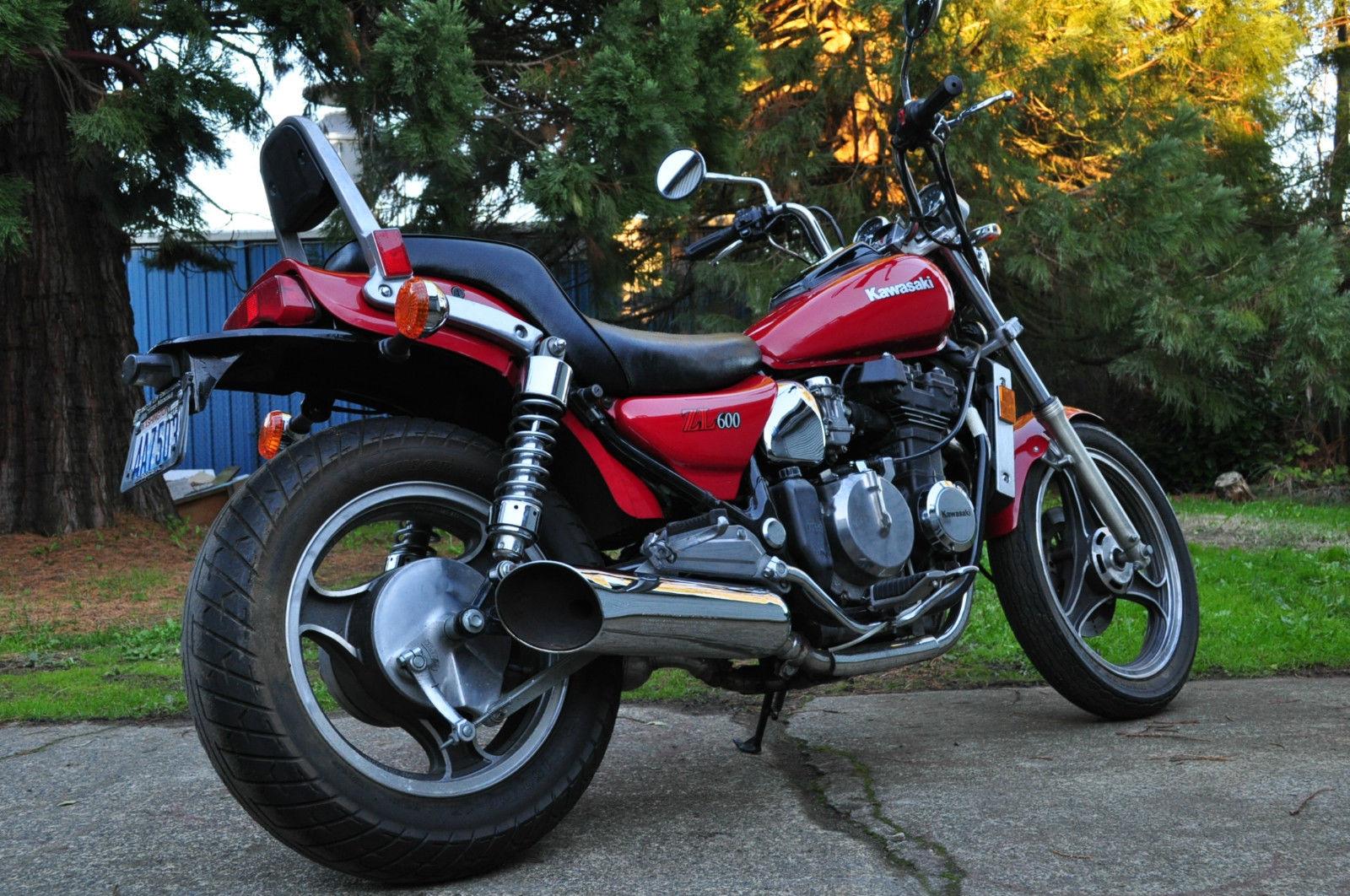 Brugt Kawasaki ZL 600 Eliminator 1986 til salg - 123mc