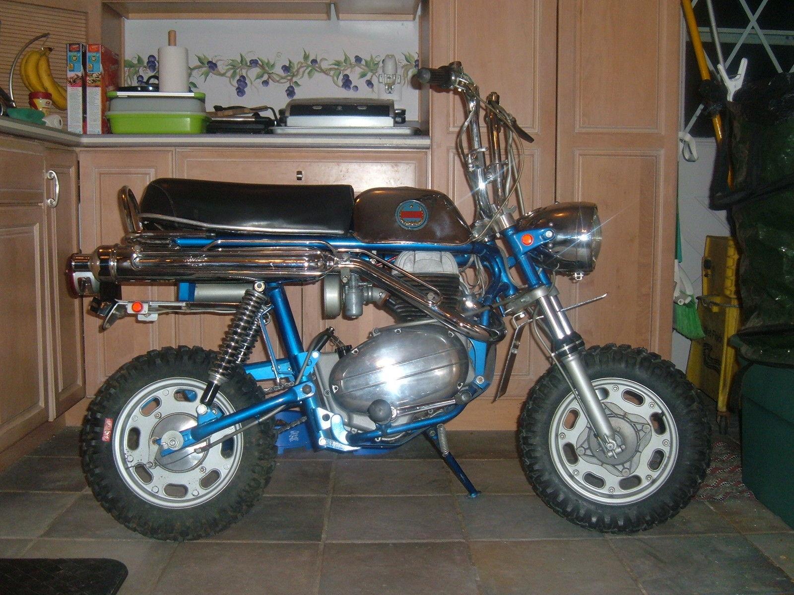 Benelli Volcano 180cc Old Dealer Stock 1970 Mini Bike