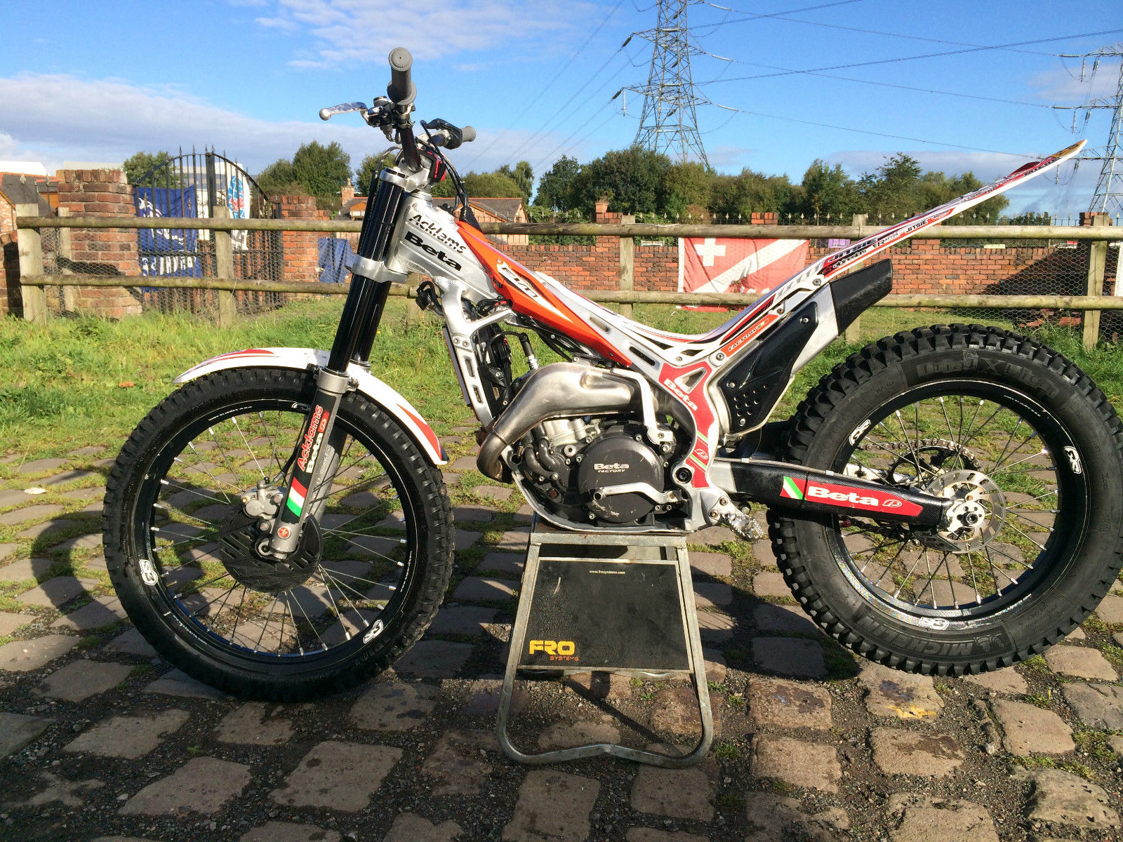 beta evo 290 2 stroke trials bike 2010 road registered rev
