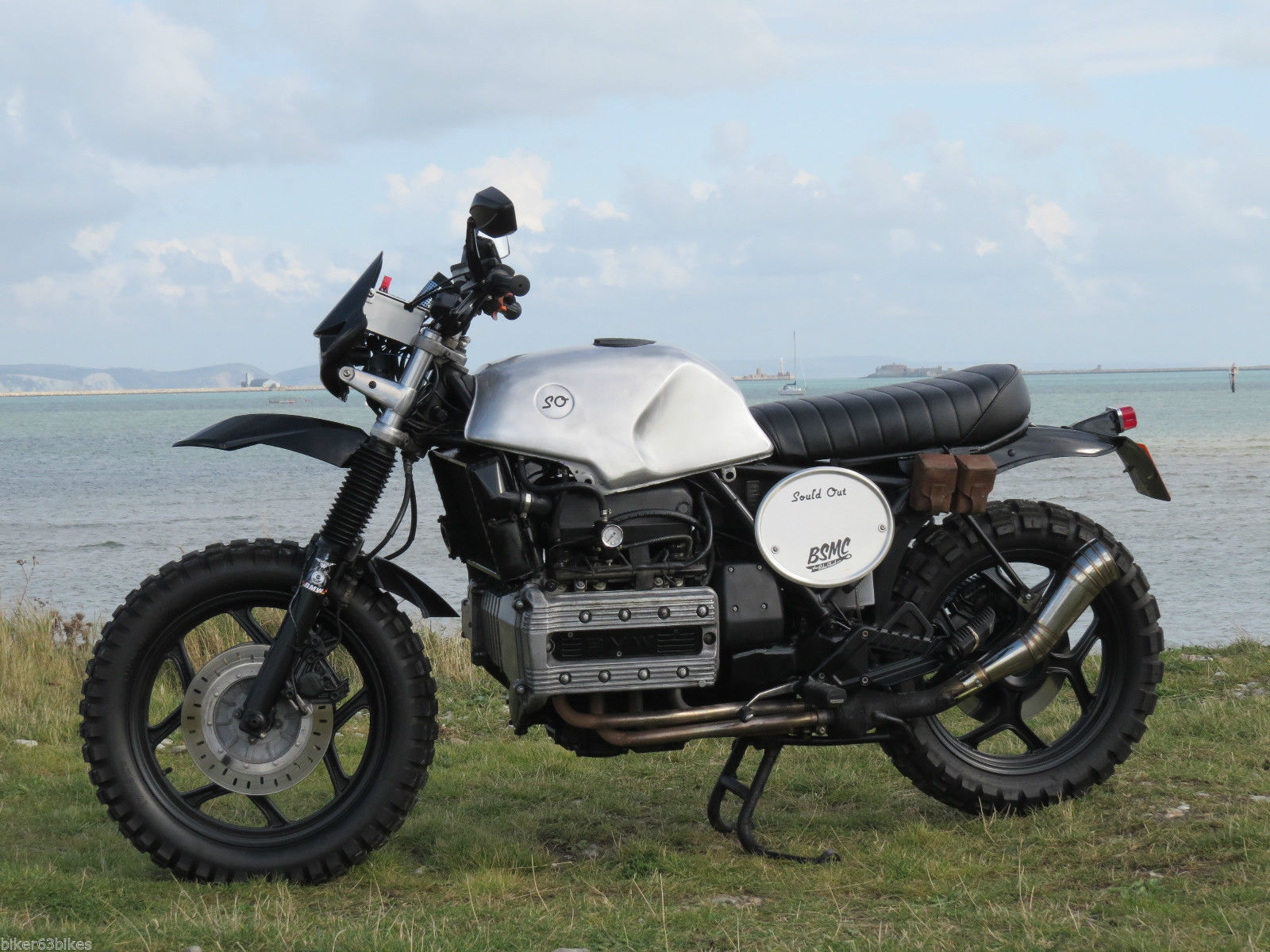 bmw k100 scrambler tracker cafe racer brat bespoke quality. Black Bedroom Furniture Sets. Home Design Ideas