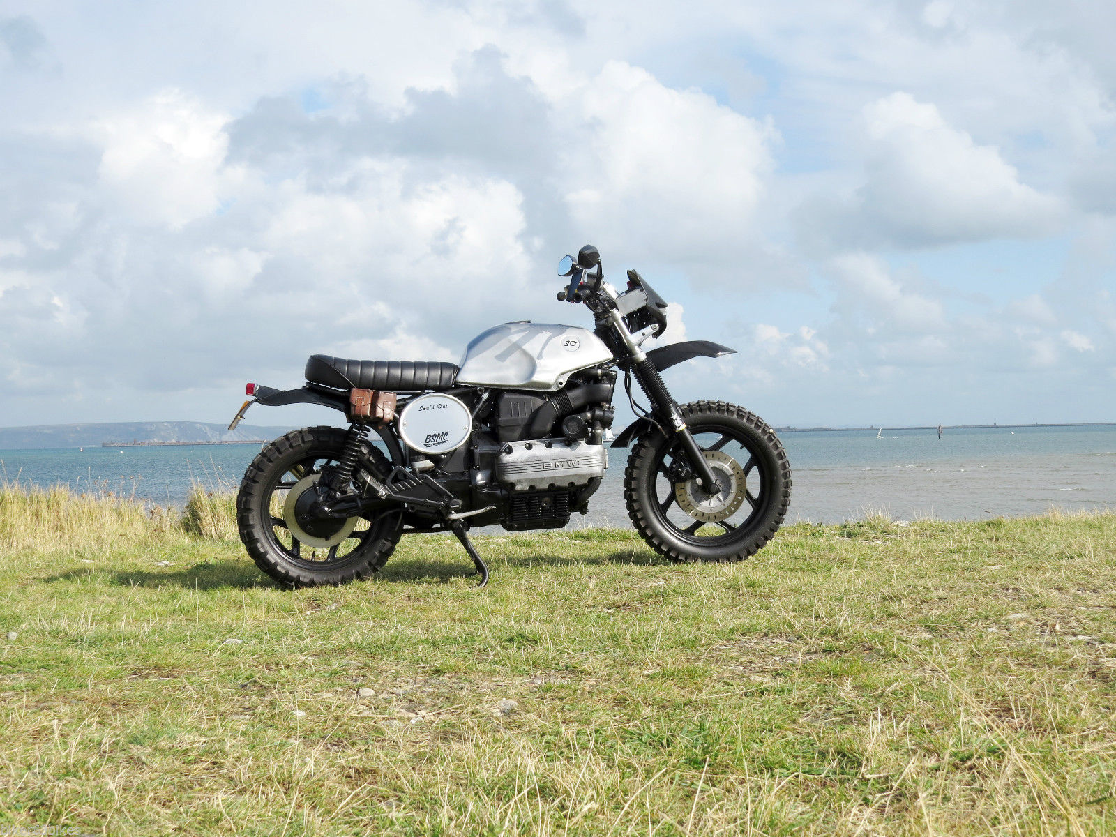 bmw k100 scrambler tracker cafe racer brat one off quality. Black Bedroom Furniture Sets. Home Design Ideas
