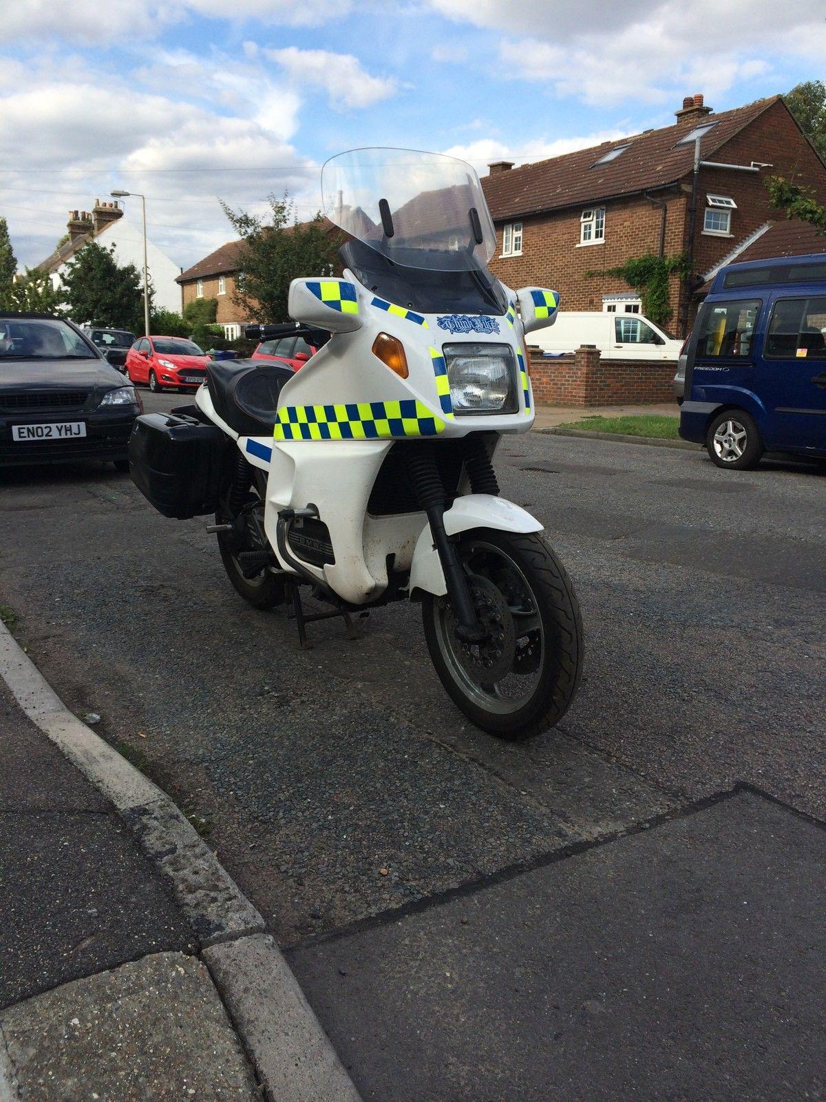 65258 bmw k1100 lt looks like police bike and luggage shaft abs hack long  mot