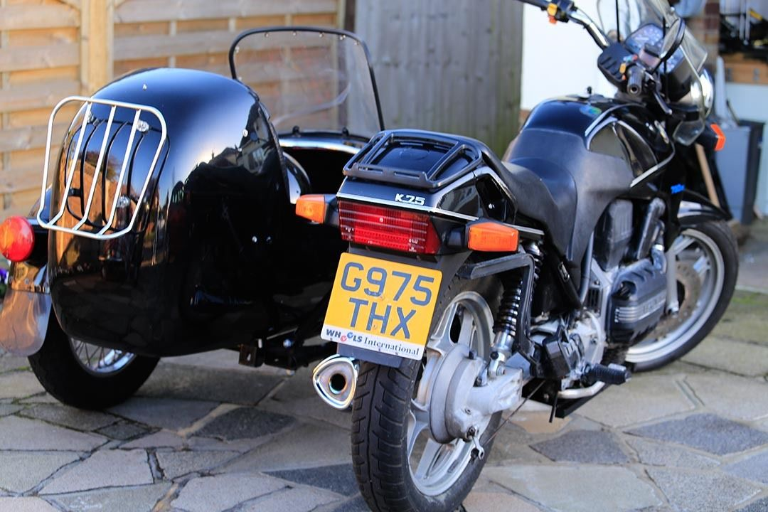 1 Owner - 1989 BMW K100RS Special Edition   Bike-urious