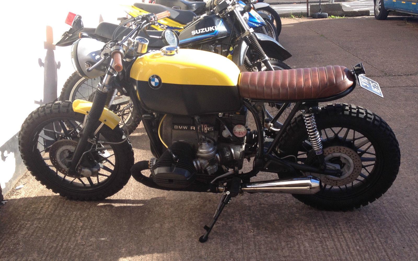 Bmw R100rs 1978 Street Scrambler Cafe Racer Brat Style