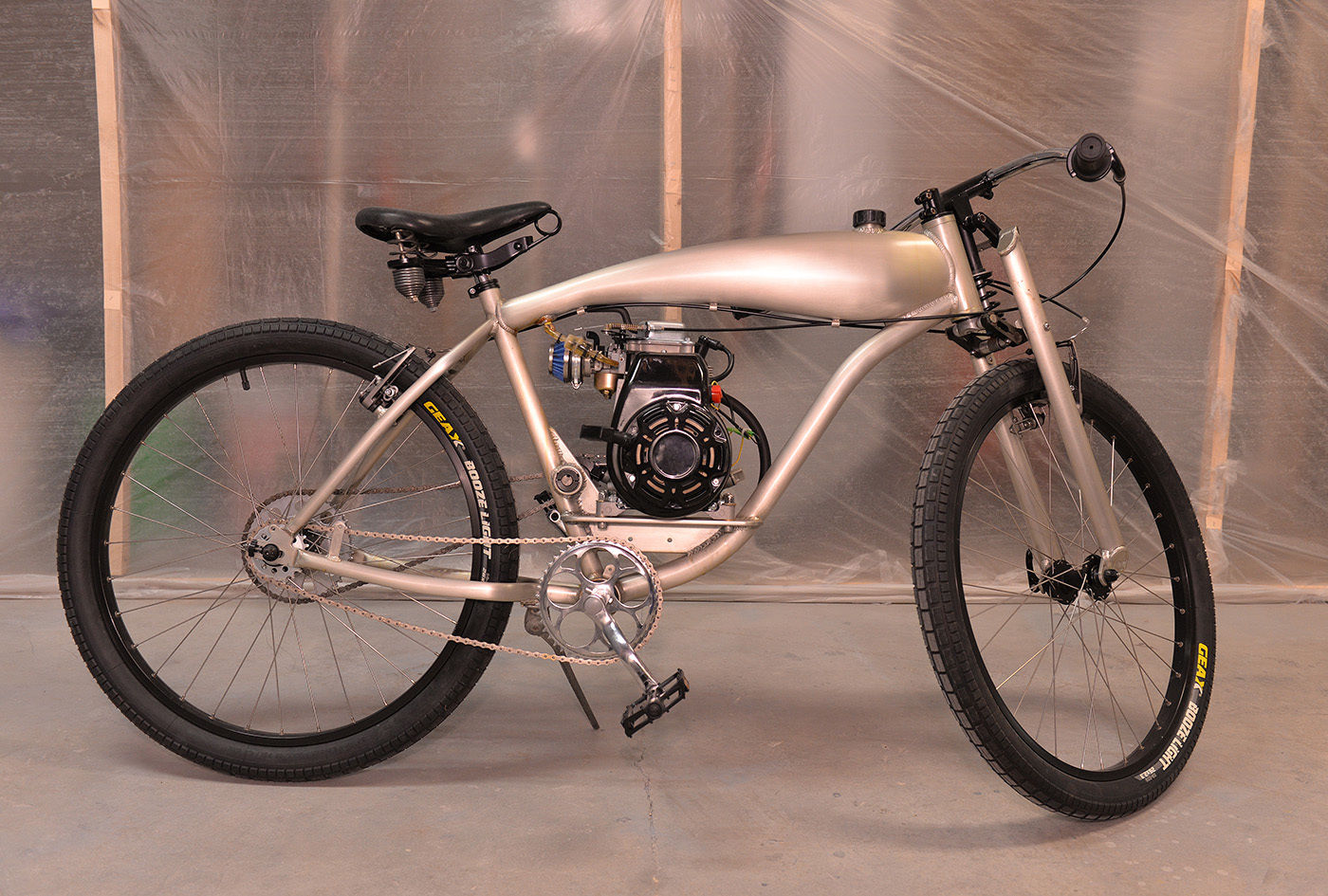 Board Track Racer Motorized Bicycle Bike