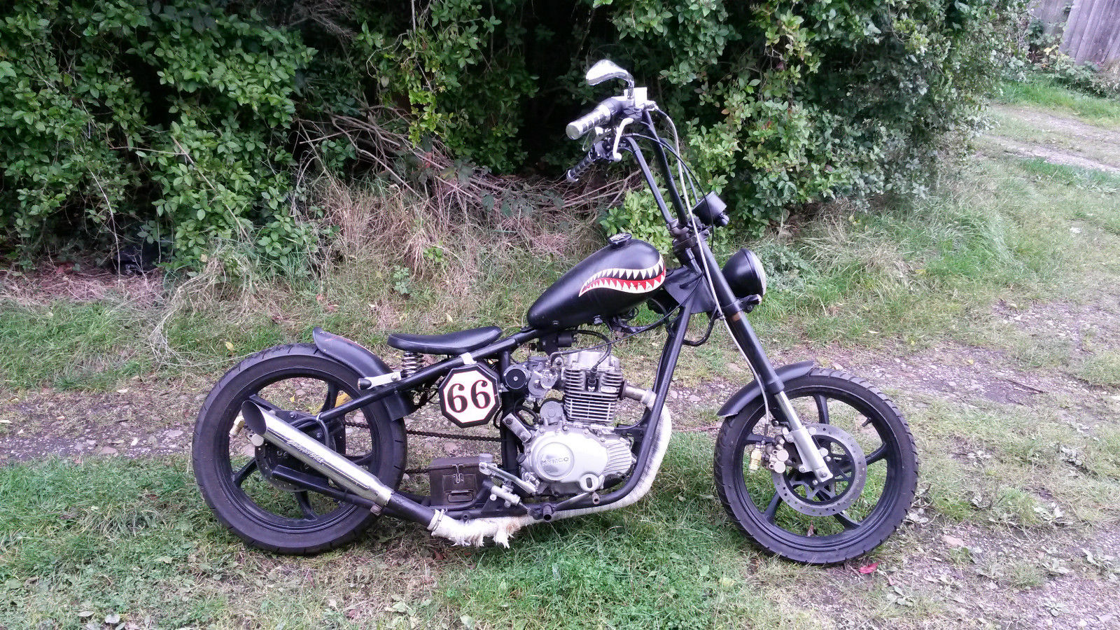 Bobber 125cc Harley Davidson Custom Cruiser Chopper Kawasaki Engine Diagram Lookalike