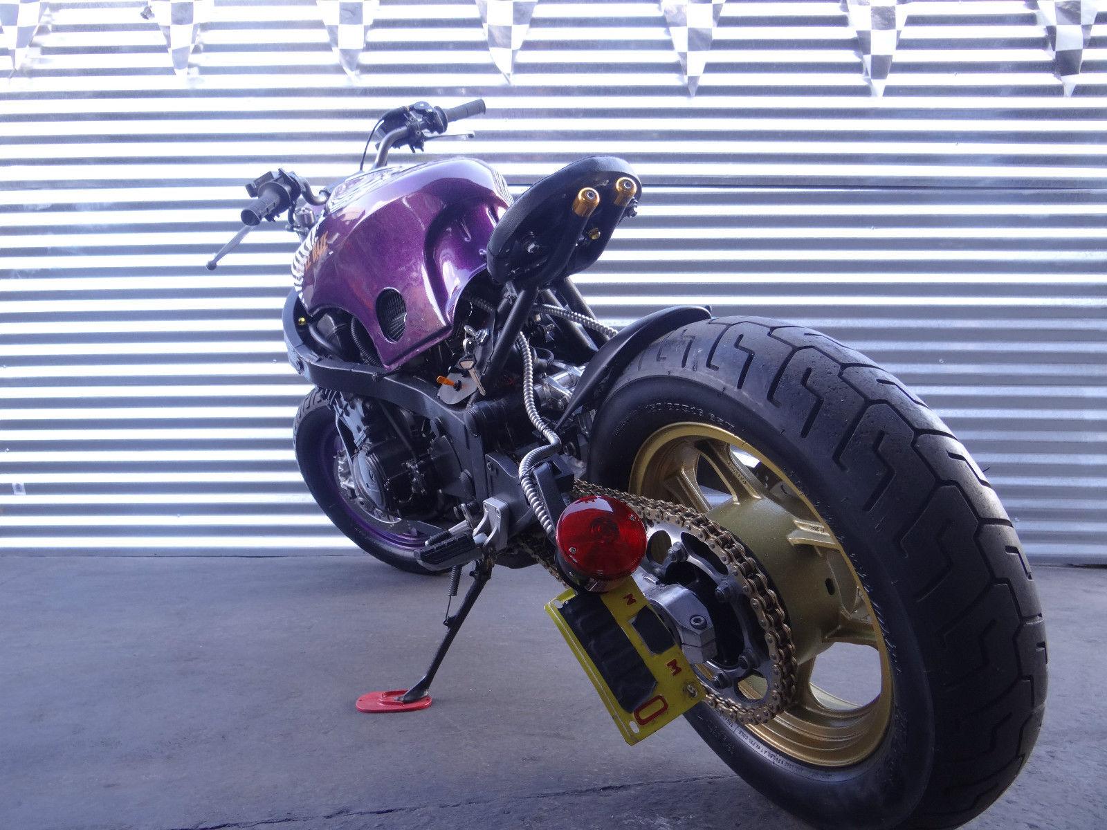 Bobber Cafe Racer Kawasaki Ninja 1000rx Purple Haze See
