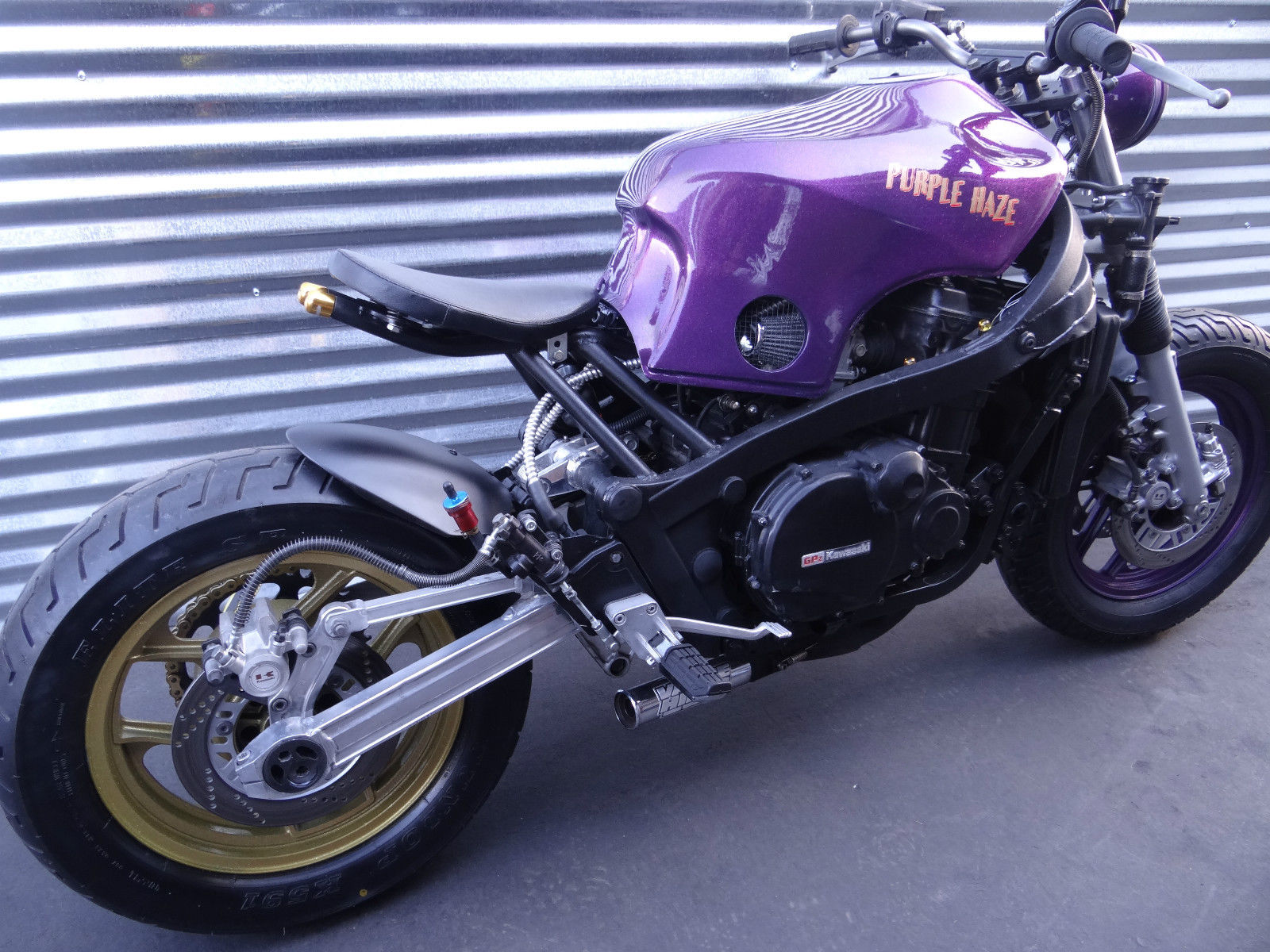 Bobber Cafe Racer Kawasaki Ninja 1000rx Purple Haze See Video Klr 650 Wiring Diagram 1986 Custom Built Motorcycles