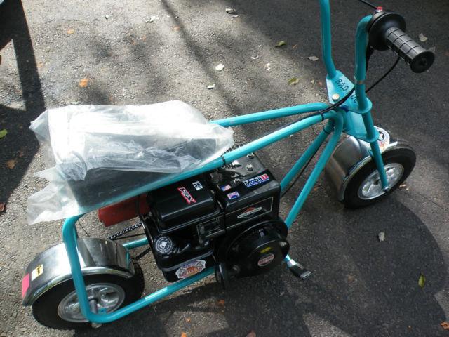 brand new bad dog mini bike kit already built rebuilt 5 hp briggs engine. Black Bedroom Furniture Sets. Home Design Ideas