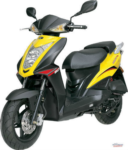 brand new kymco rs 50 scooter 50cc moped. Black Bedroom Furniture Sets. Home Design Ideas