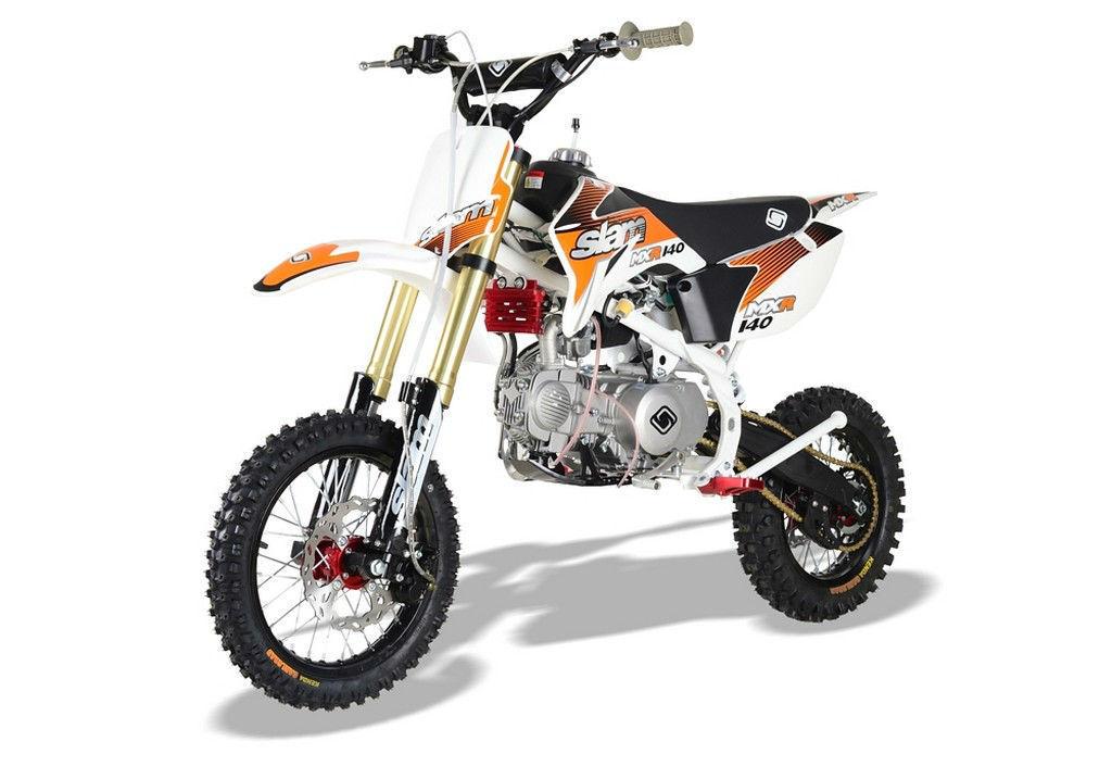 brand new slam mxr 140 pittbike 140cc off road enduro style dirt bike. Black Bedroom Furniture Sets. Home Design Ideas