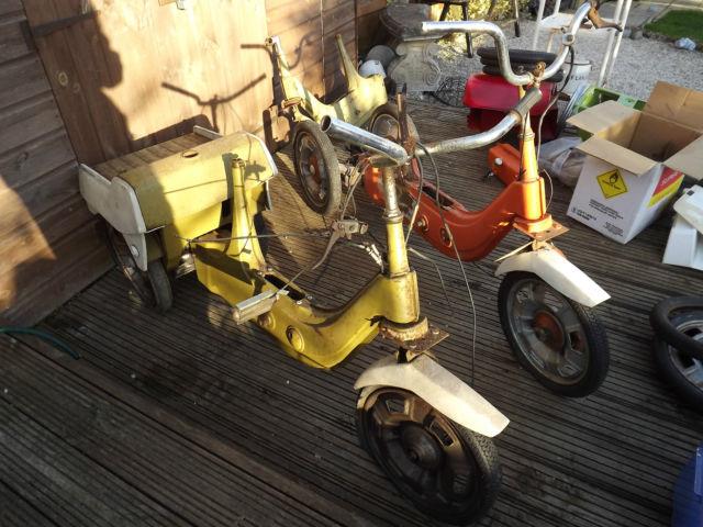 BSA ariel 3 mopeds projects
