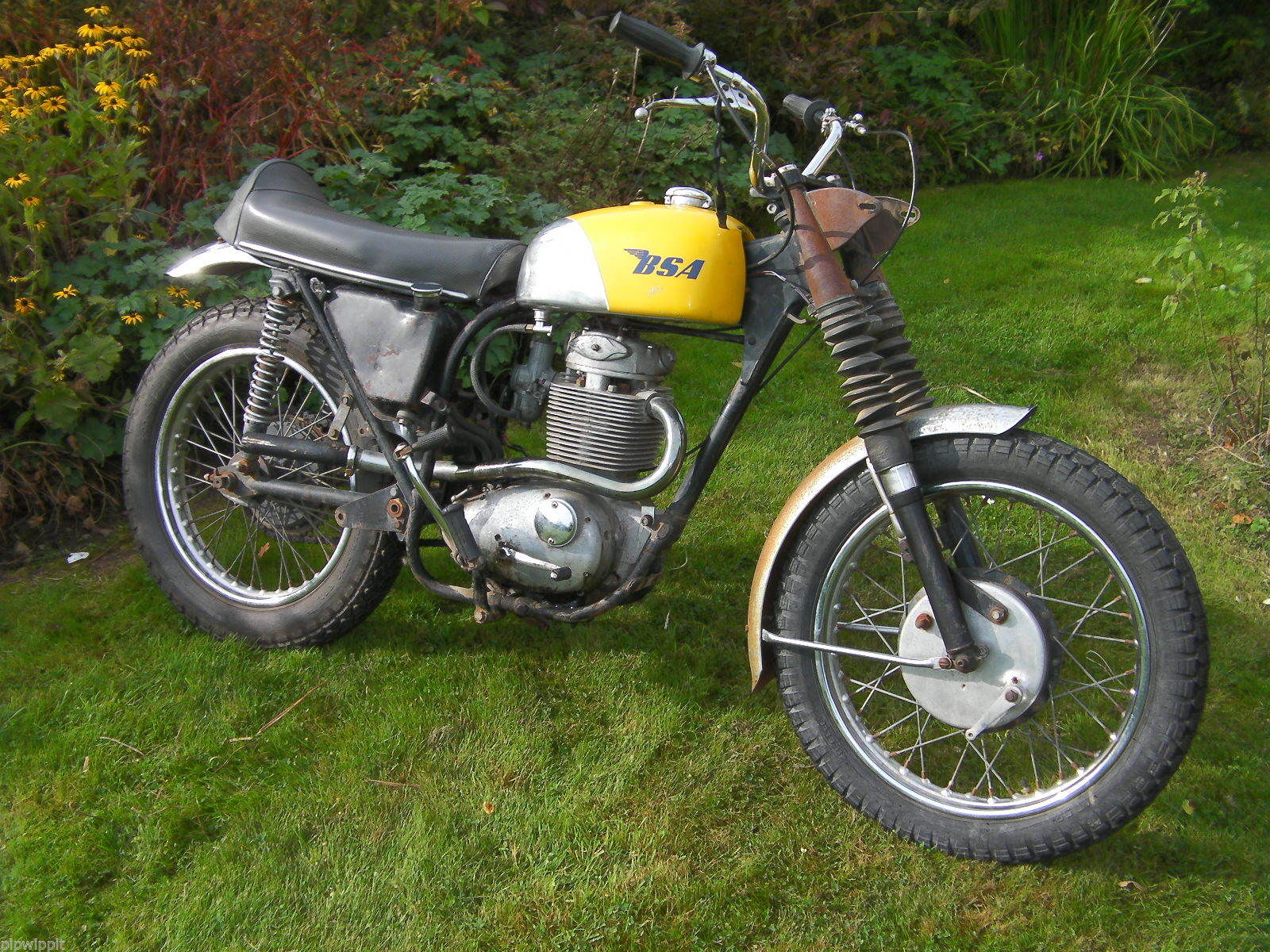 Bsa B44 Vs Twin Shock Motocross Restoration Project