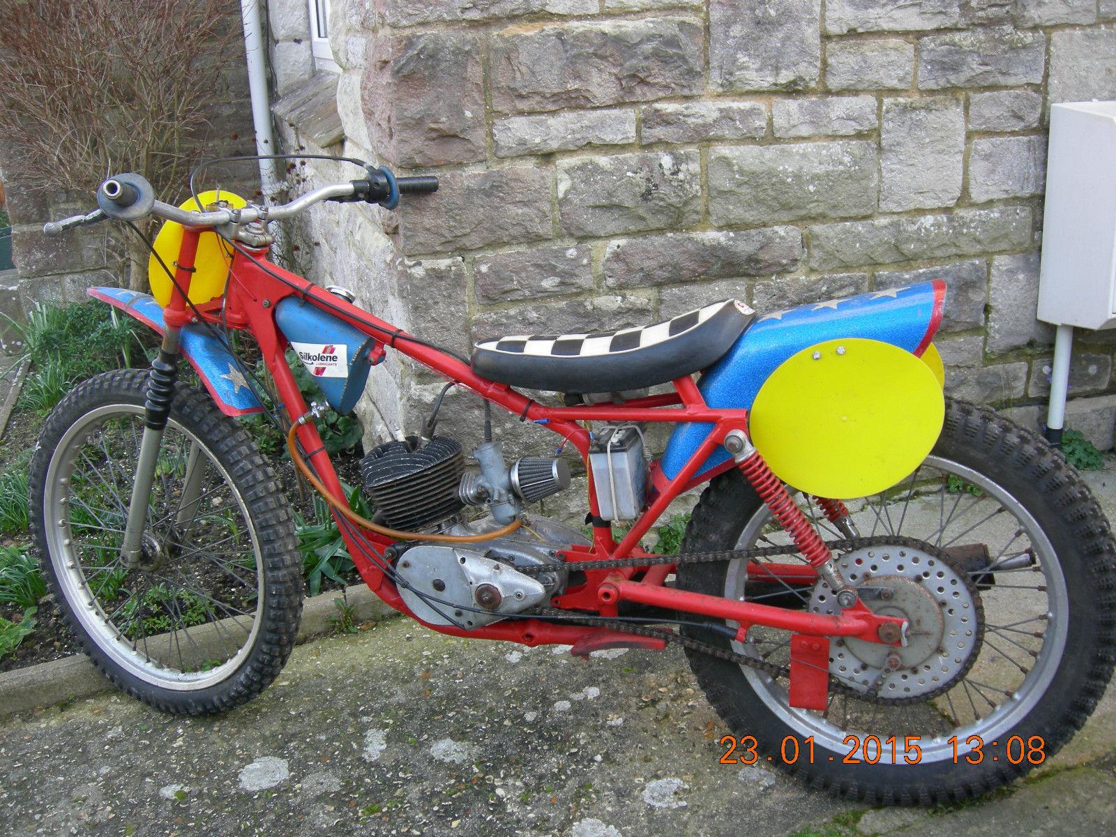 bsa grass track speedway motorcycle barn find