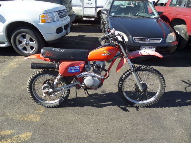 c 1980 honda xr100r dirt bike 100cc no reserve. Black Bedroom Furniture Sets. Home Design Ideas