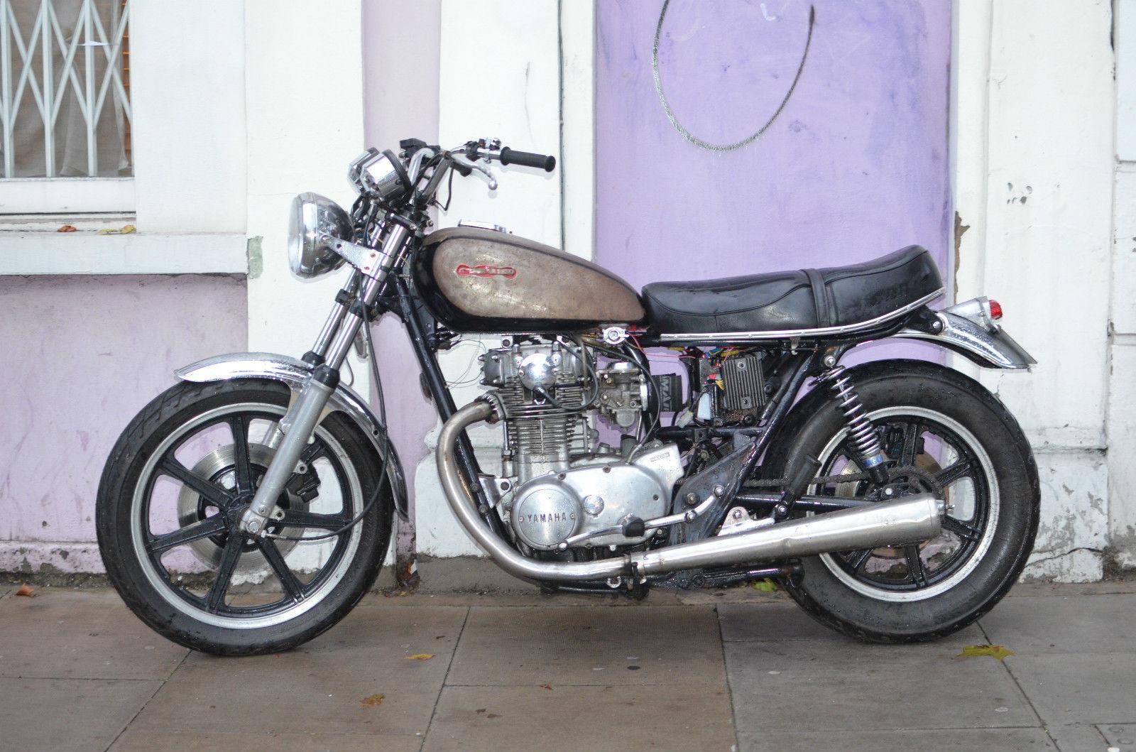 1978 yamaha xs650 bobber