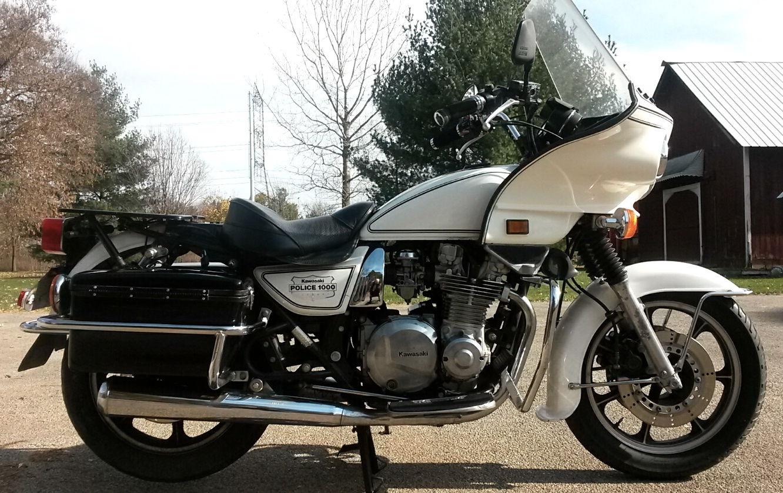 Chips California Highway Patrol Bike Kawasaki Kz1000p 1988 Excellent