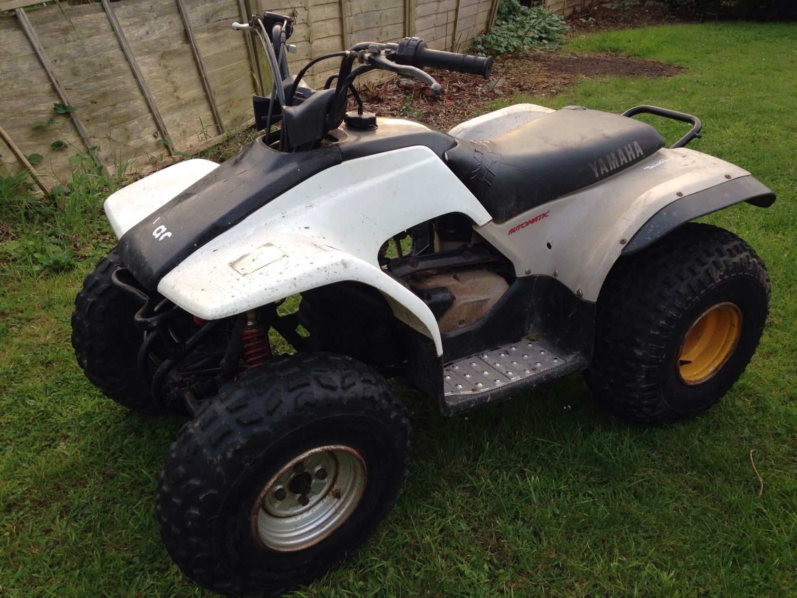 classic yamaha breeze 125cc automatic quad bike 99p start with no reserve. Black Bedroom Furniture Sets. Home Design Ideas