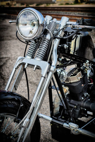 Cleveland Cyclewerks Custom Springer Hardtail Bobber