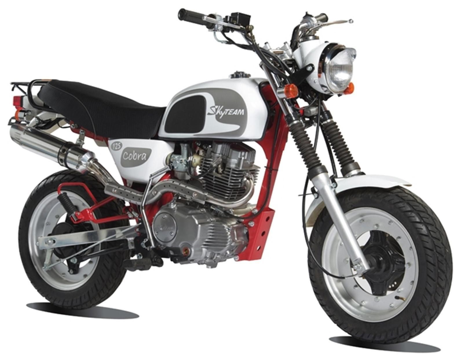 cobra 125 new monkey bike from skyteam 125cc. Black Bedroom Furniture Sets. Home Design Ideas