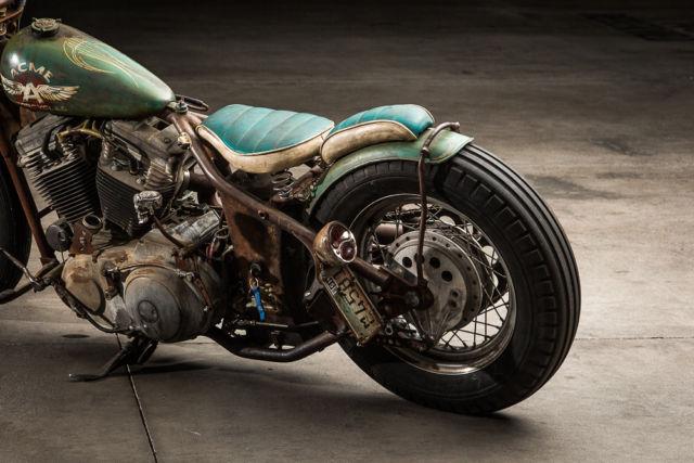 Complete Custom Build 1993 Harley Davidson Sportster