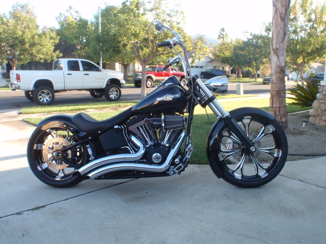 custom 2006 harley softail night train black low miles excellent condition. Black Bedroom Furniture Sets. Home Design Ideas