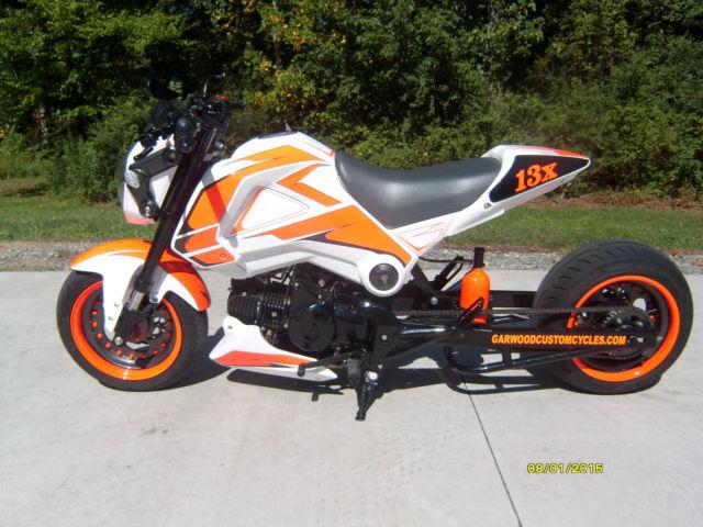 Custom 2014 honda grom w c s custom 200 wide tire kit for Honda grom mpg