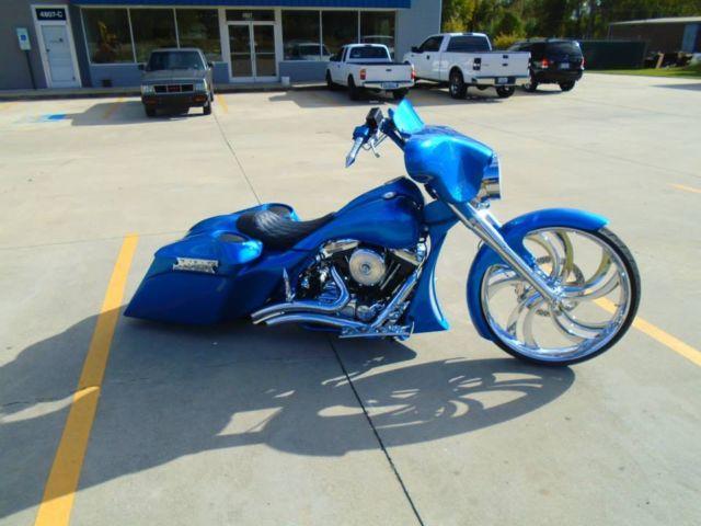 Greensboro Harley Davidson >> Custom Bagger 26 inch wheel Street Glide Road king Harley Davidson air ride