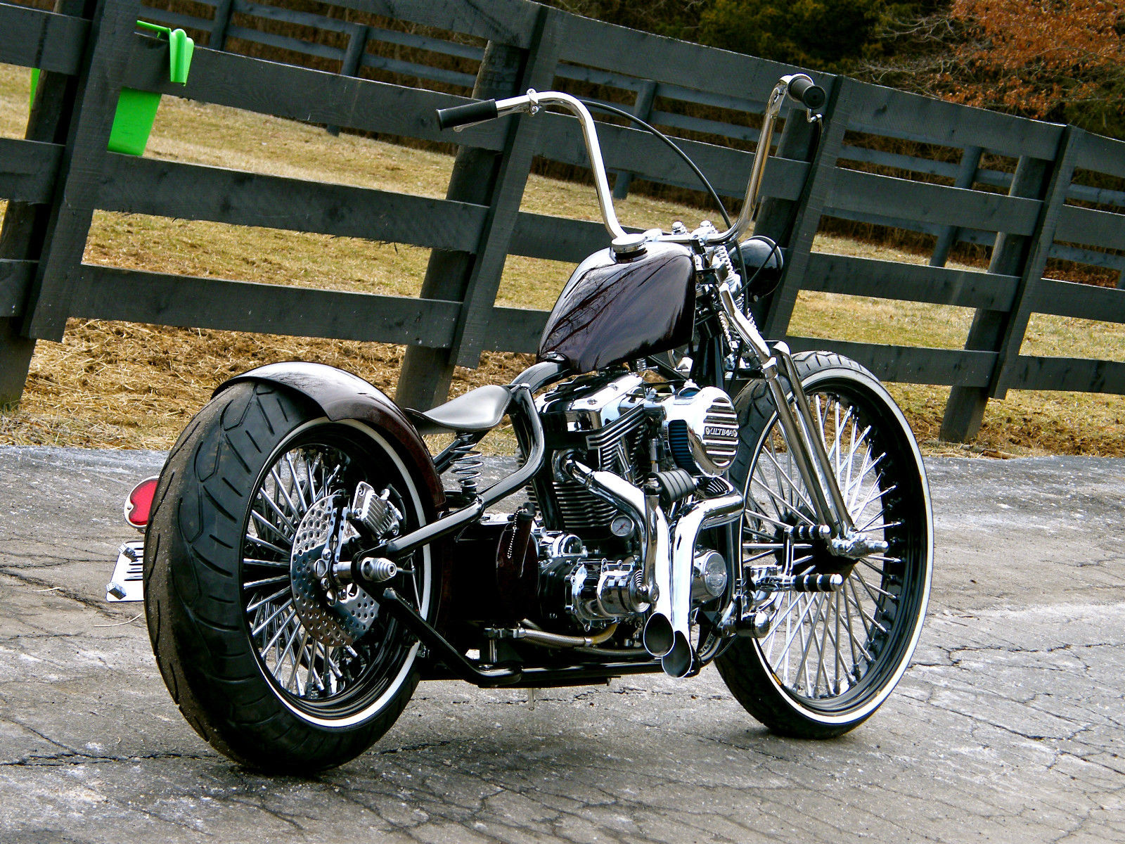 Bobber Wiring Can Search For Diagrams Xs650 Harness Custom Fat Tire 200mm Show Winning Pro Hot Rod Harley Diagram