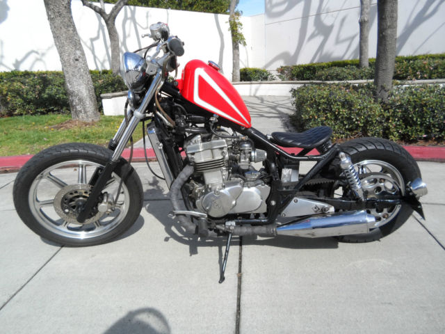 Custom Bobber Kawasaki Vulcan 500 Professionally Done Beautiful Bike