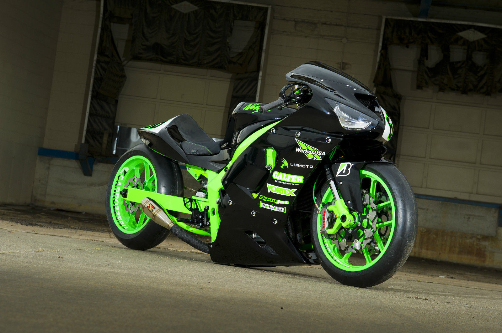 Kawasaki Ninja R Custom Parts