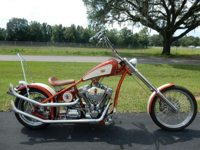 CUSTOM CHOPPER, ULTIMA MOTOR, FISHTAIL, SISSYBAR, SPRING SEAT, VERY COOL,