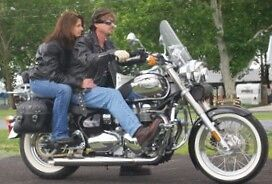 Custom Chrome Classic Triumph Bonneville America