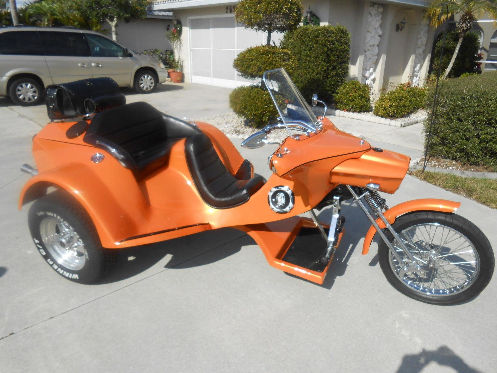 custom factory built cc vw trike
