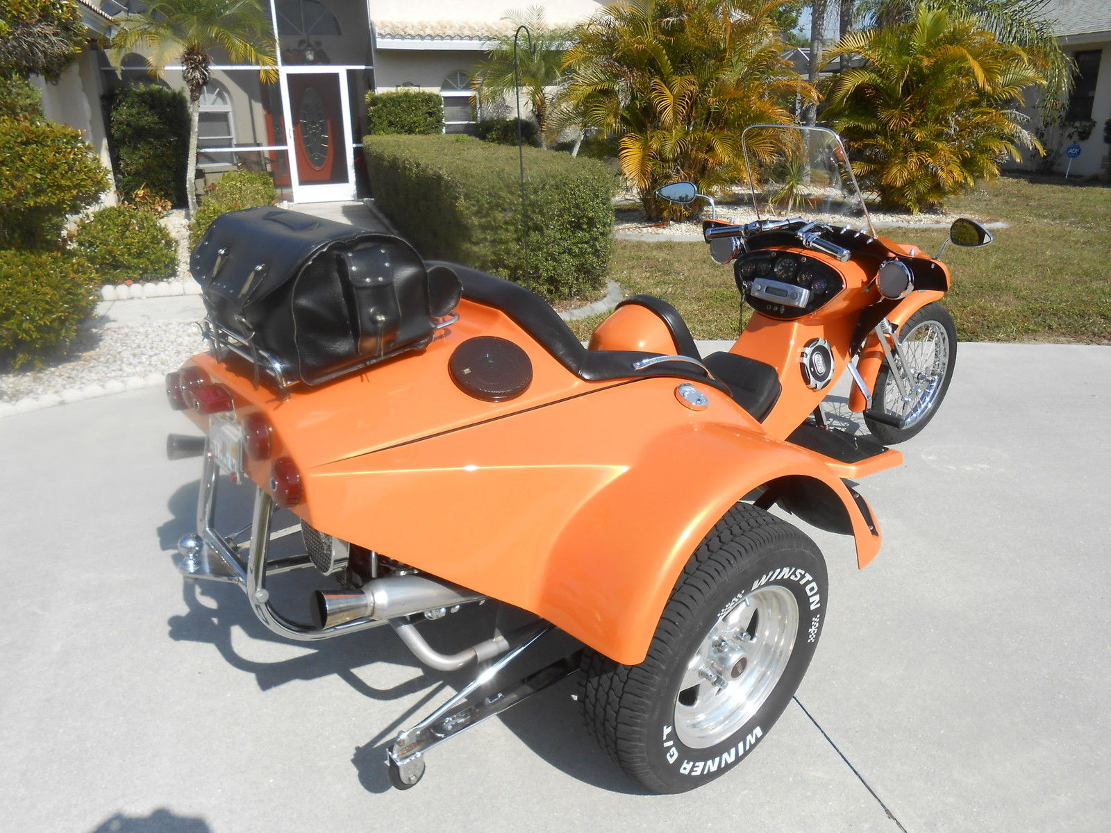 how to build a trike motorcycle
