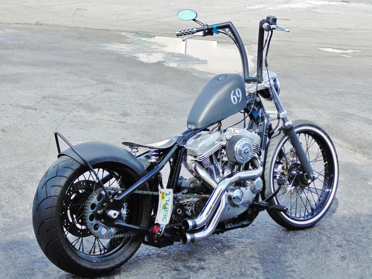 Harley Davidson Sportster  Gas Mileage