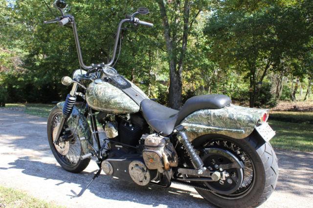 Custom Harley Bourget Pro Cruz Evo