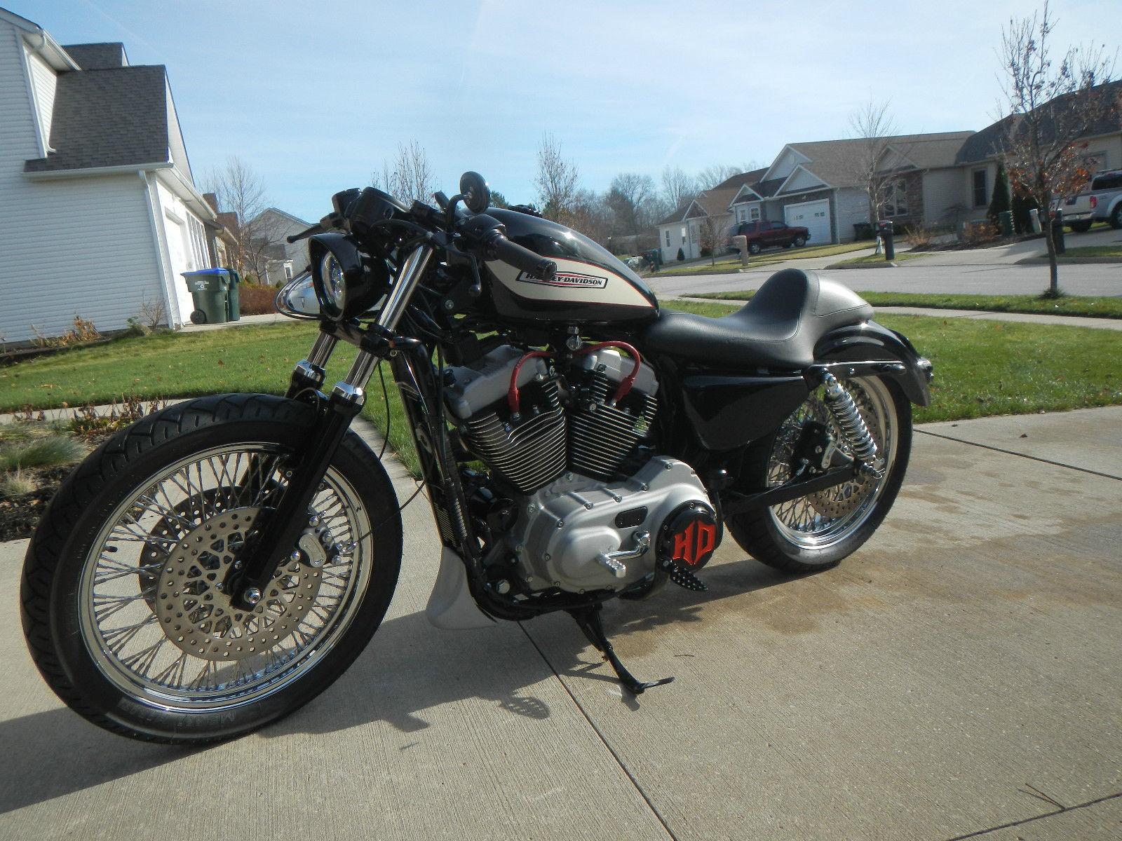 Custom Harley Davidson Cafe Racer Roadster Sportster 1200R