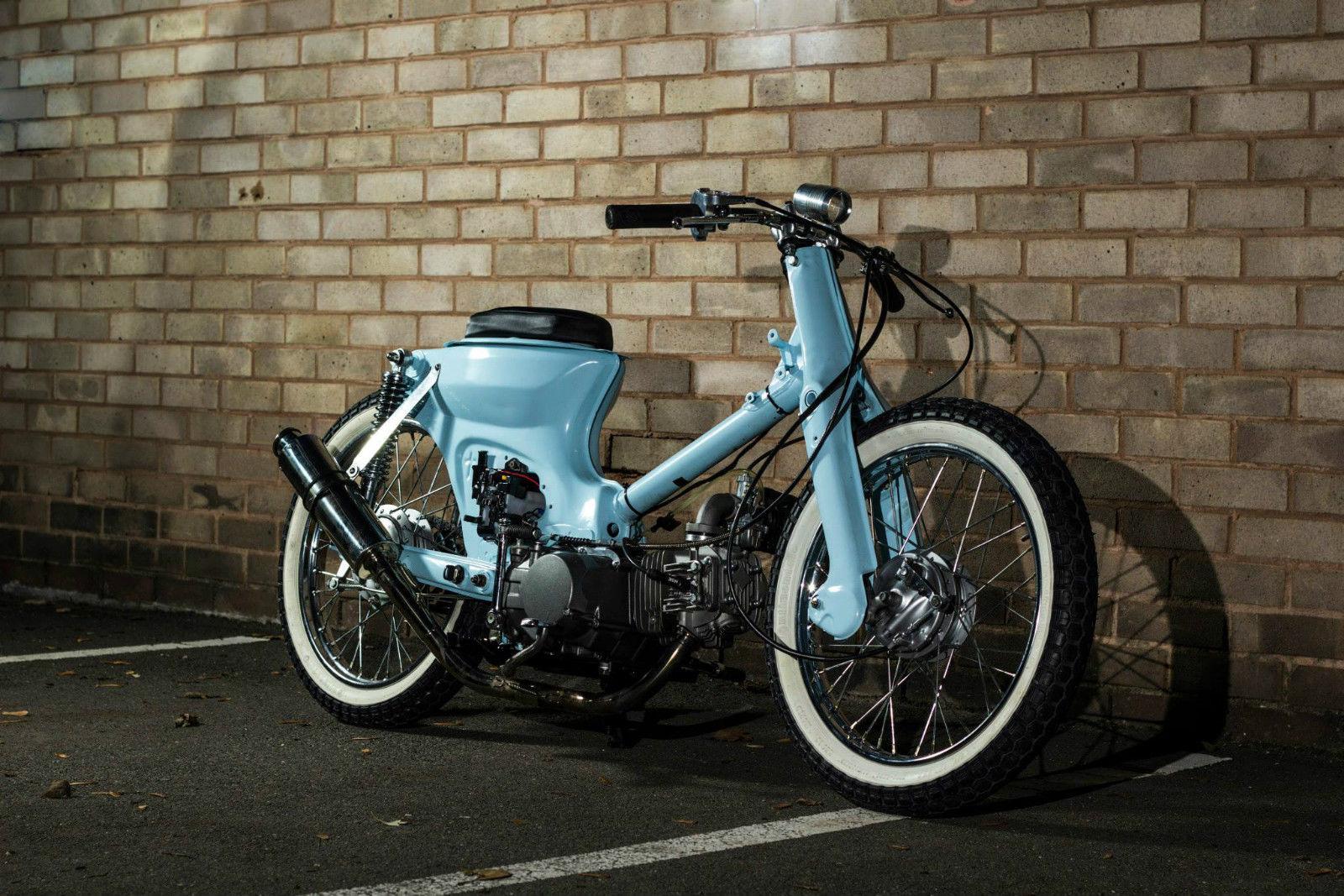 Http Me Moto Com Honda 45059 Custom Honda C90 Bobber Oldskool Chopper 1990 Html