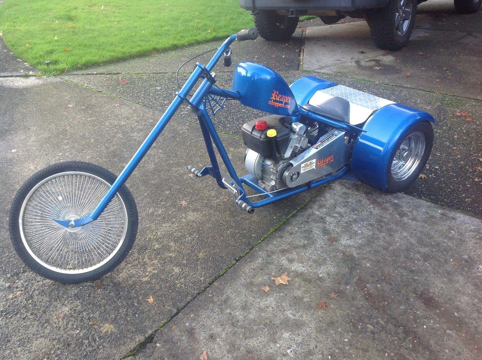Custom Reaper Chopper Trike