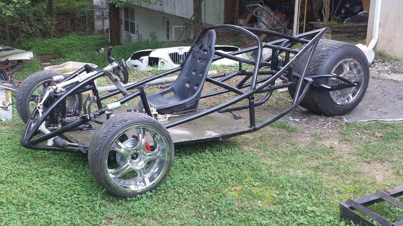 Custom Reverse Trike Turbo Gsxr 1000 Project No Reserve