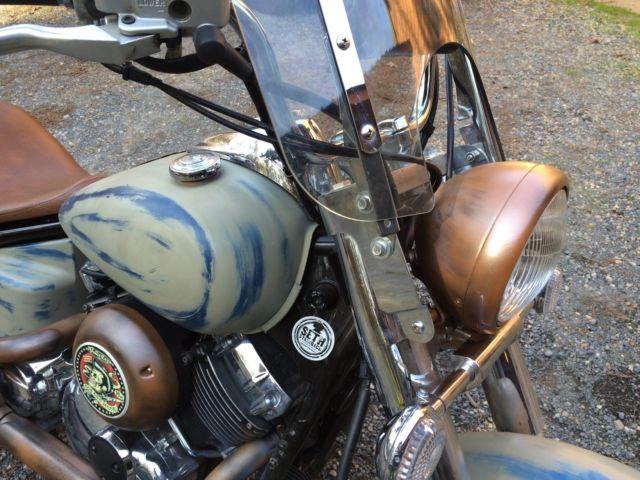 Yamaha V Star 1100 Custom Bobber | 1stmotorxstyle org