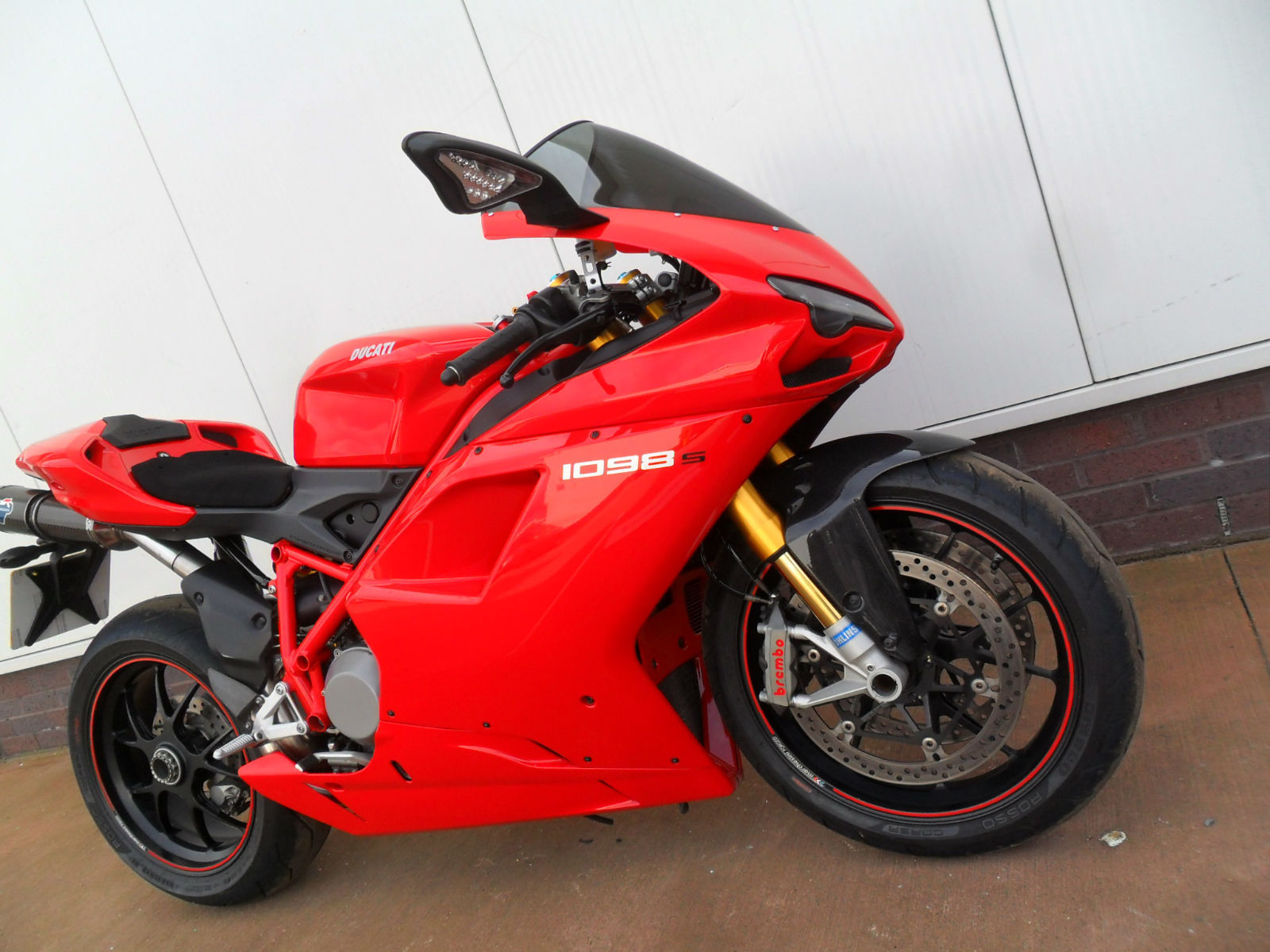 ducati 1098 s 08 model with just 4 780 miles. Black Bedroom Furniture Sets. Home Design Ideas