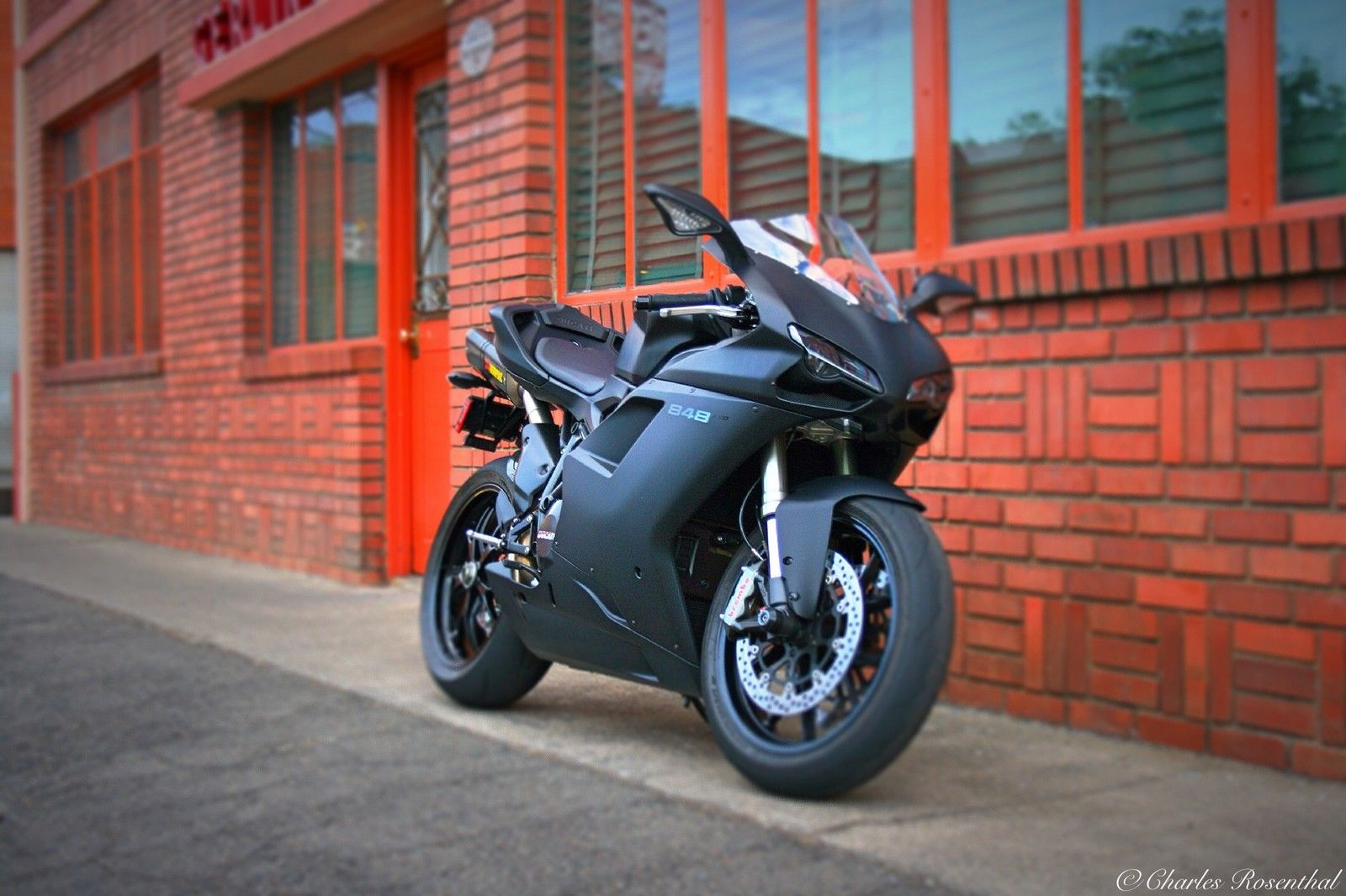 ducati 848 evo immaculate with very low miles. Black Bedroom Furniture Sets. Home Design Ideas