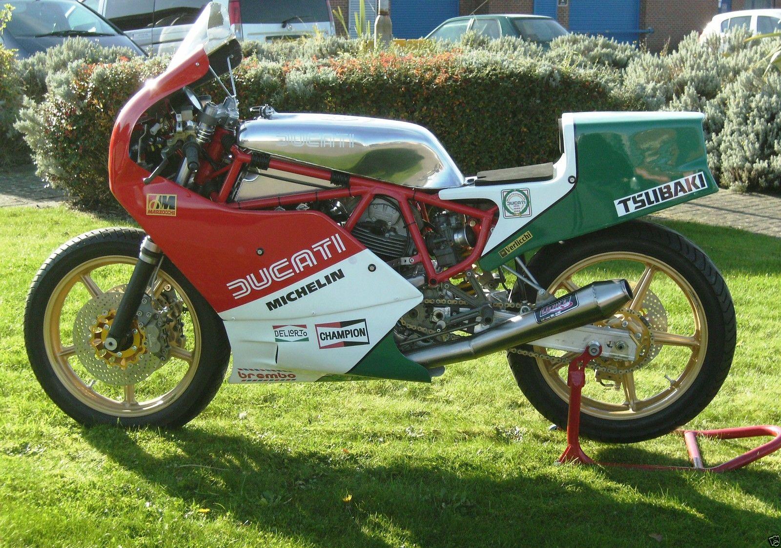 DUCATI F1 RACE BIKE