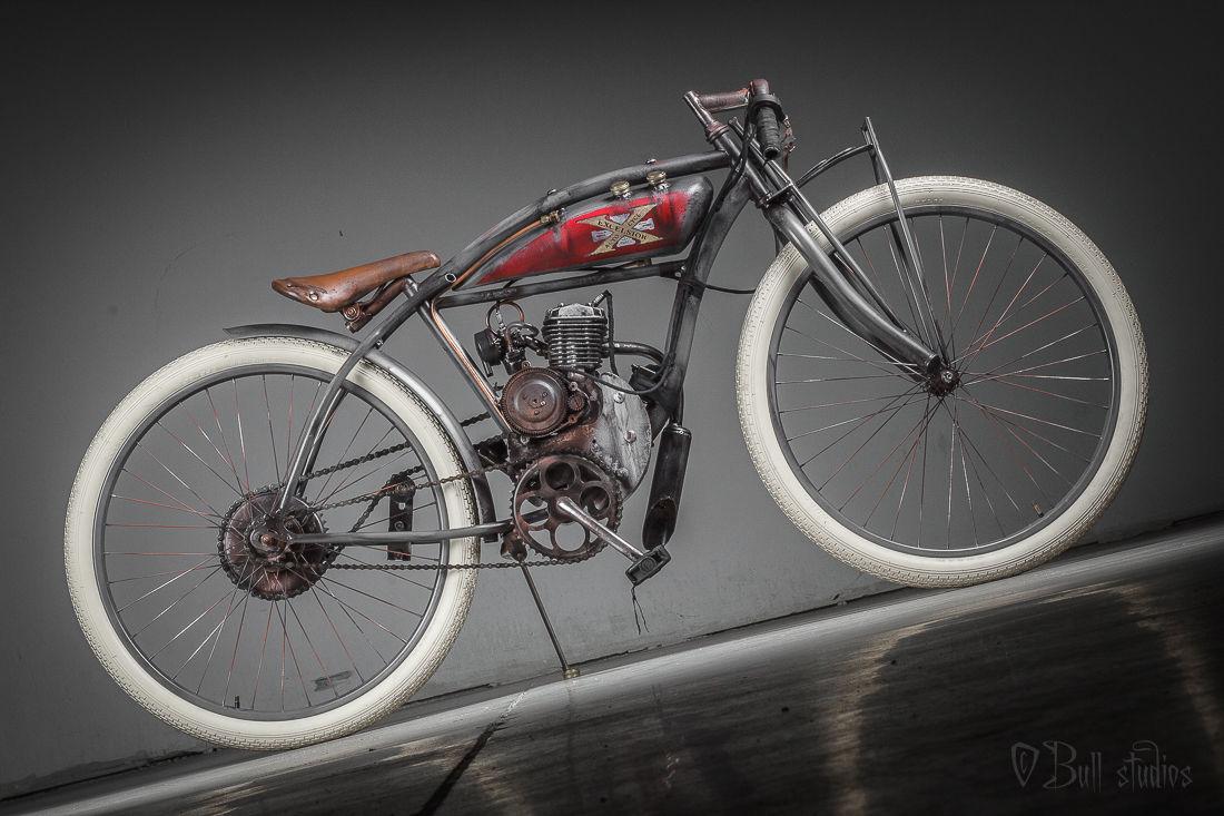 Excelsior board track racer antique vintage indian bicycle
