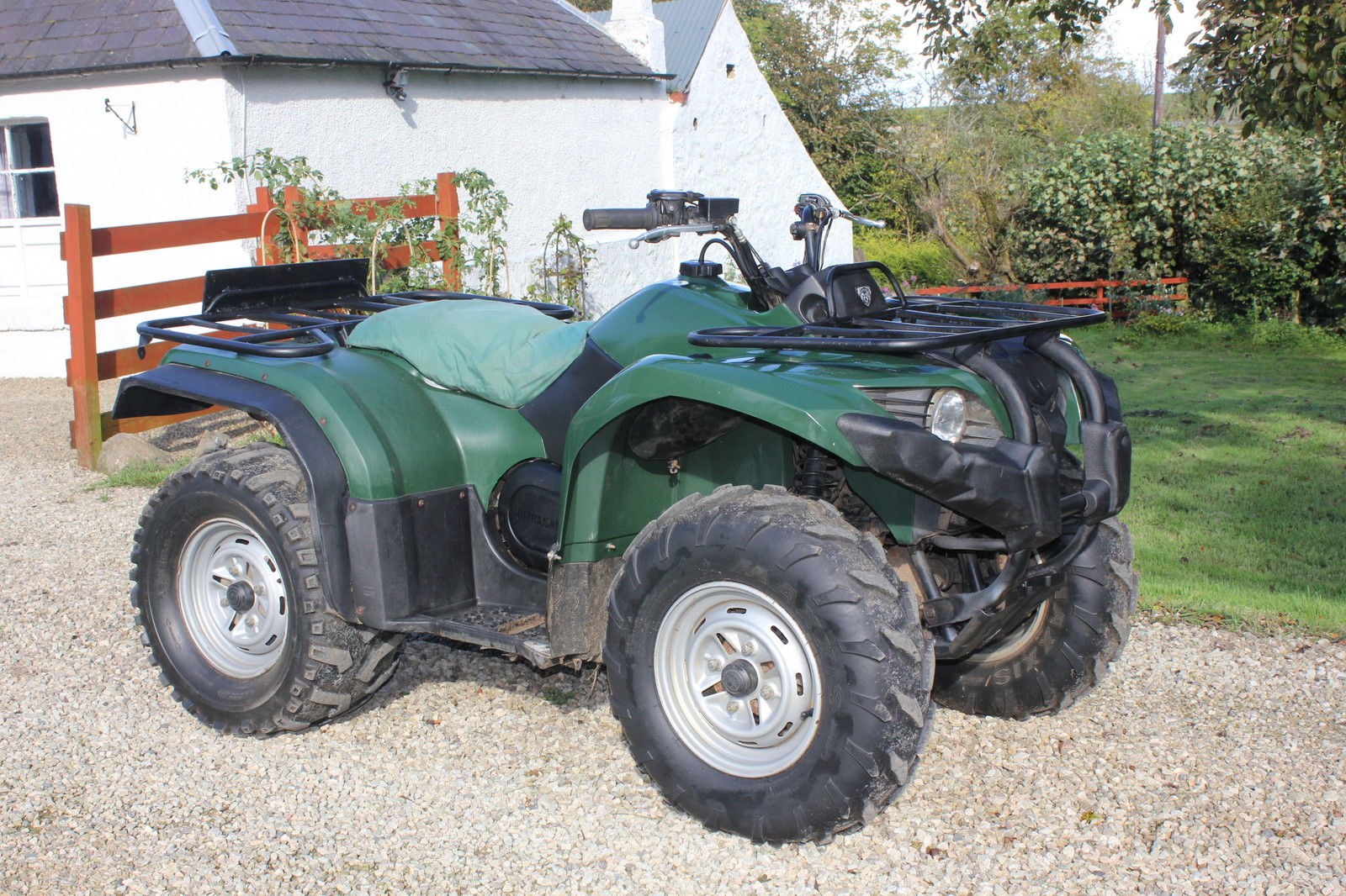 fantastic yamaha grizzly 450 2009 4wd 4x4 quad atv utv off