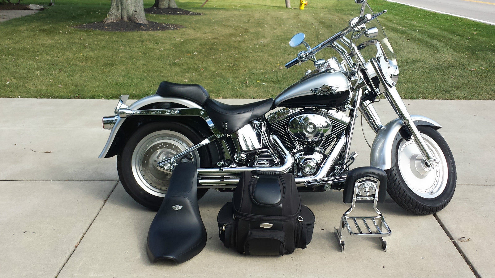 for sale 2003 harley davidson 100th anniversary fat boy. Black Bedroom Furniture Sets. Home Design Ideas