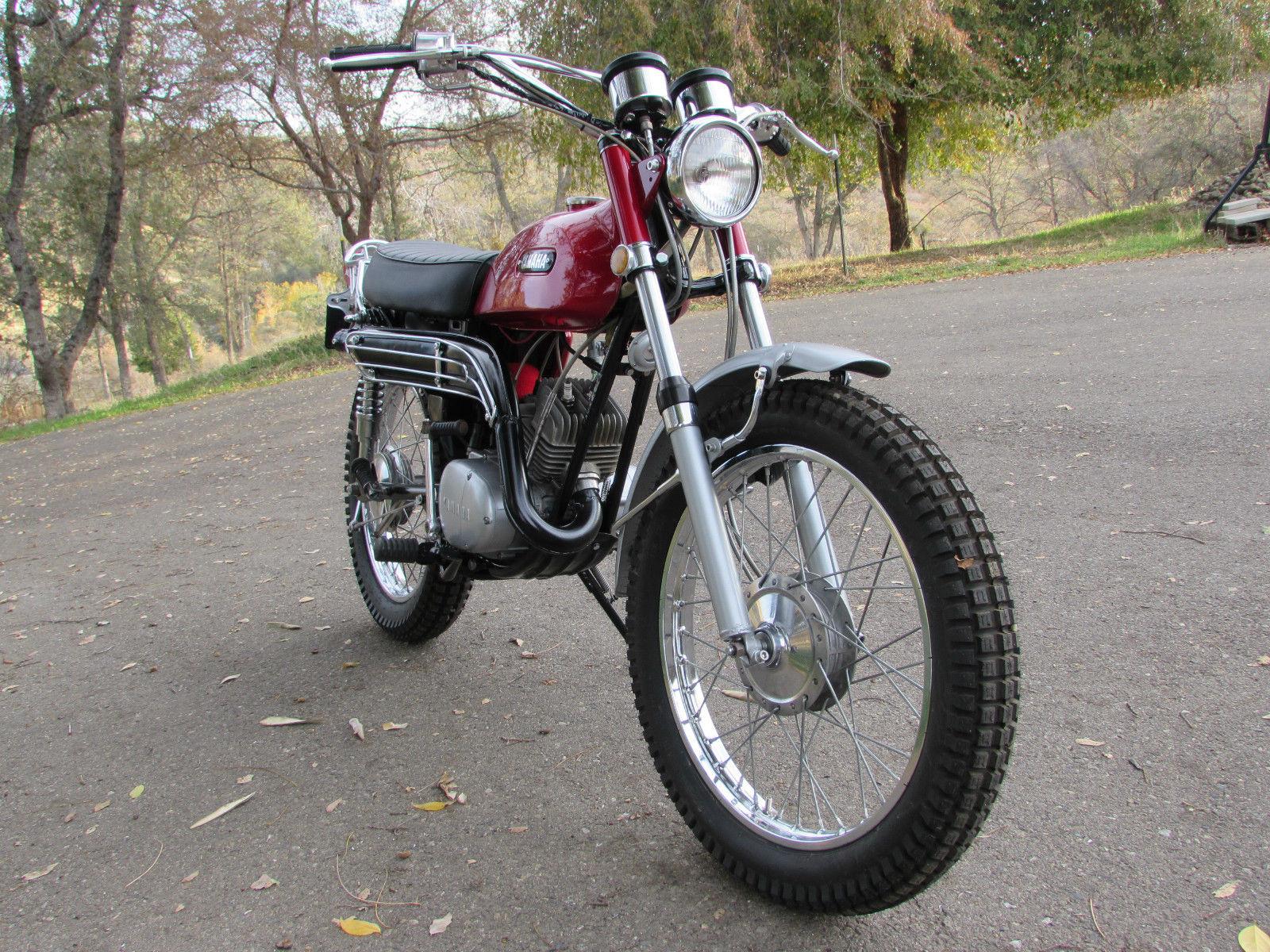 Fully Restored 1970 Yamaha AT1 125 Enduro